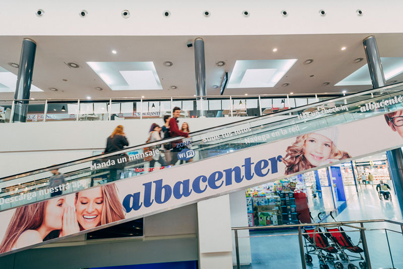 Interior Albacenter Shopping Centre