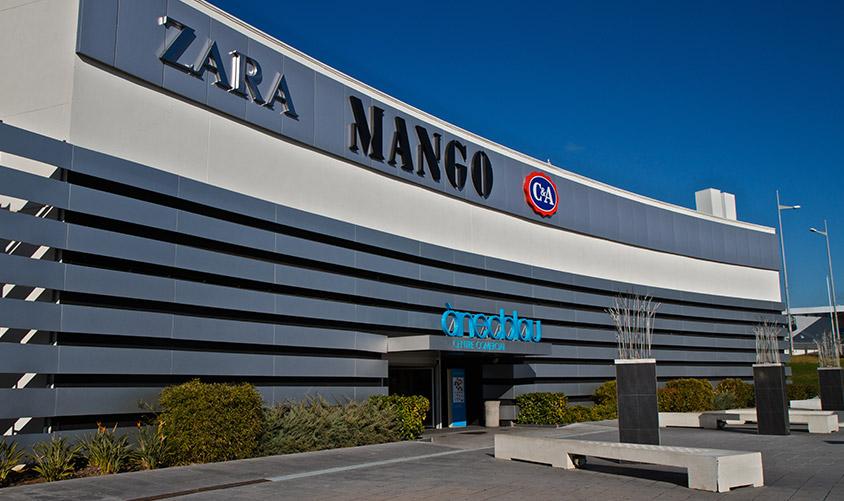 Centro Comercial Anecblau LAR España