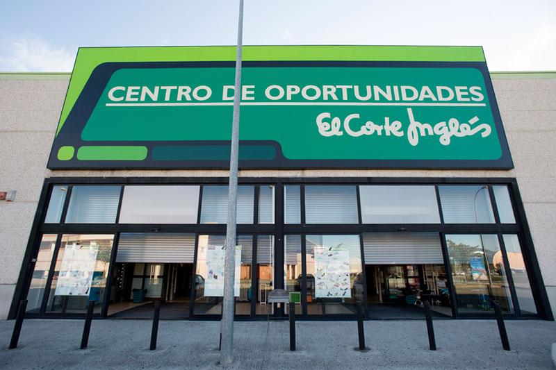 Exterior El Corte Inglés Oportunidades